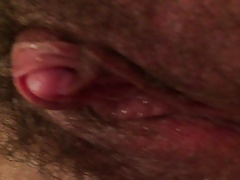 Big clit closeup