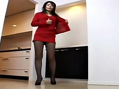 Very alluring Japanese MILF exposes her legs and knickers to the camera in this Japanese voyeur upskirt video and it looks quite nice. She is calm and
