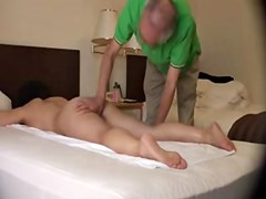 hawt japanese milf/wife acquires a sexy orgasmic massage