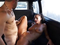 Slut in a van