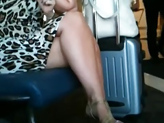 legs at the airport 2