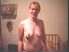 Mature with small saggy tits strip to MADONNA