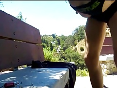 Park Bench Quickie