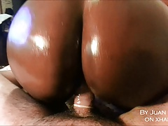 Amateur Ebony ass fucked by a white man (African French)